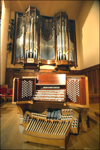 Photo of First United Methodist Church, Wichita Falls, TX - Sanctuary organ